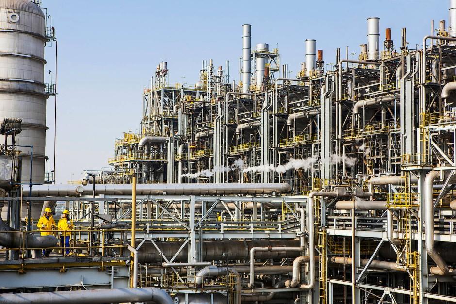 Ethylen-Anlage in China