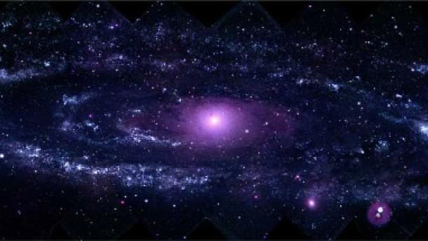 Tausende von Sternkrippen im Andromedanebel