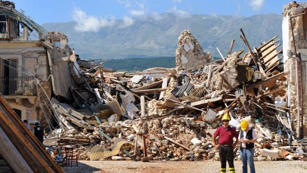 Ungenügende Warnung vor Beben in Abruzzen: Seismologen verurteilt