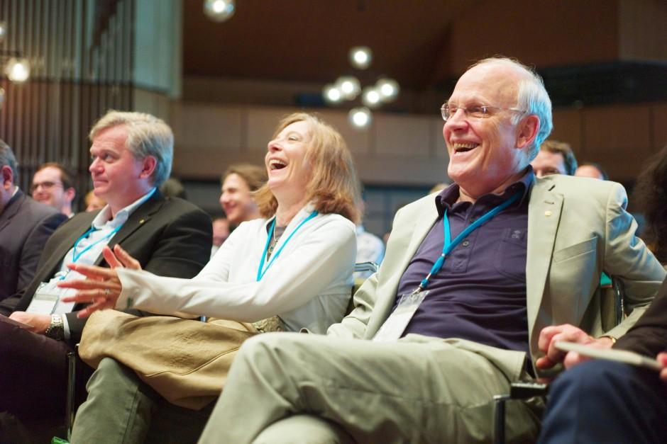 Wie die Jahre zuvor, so waren auch dieses Jahren wieder  Brian Schmidt (l.)  und David Gross (r.) zu Gast in Lindau.