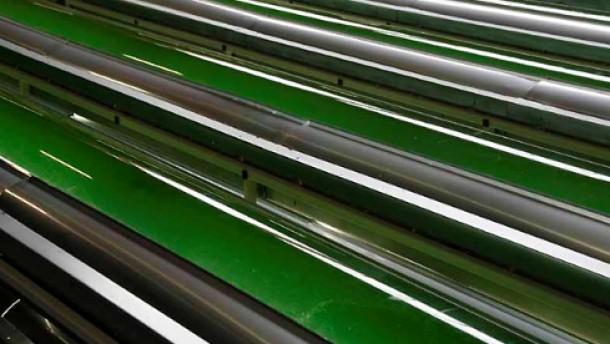 Wer zaubert Biosprit  aus dem grünen Topf?