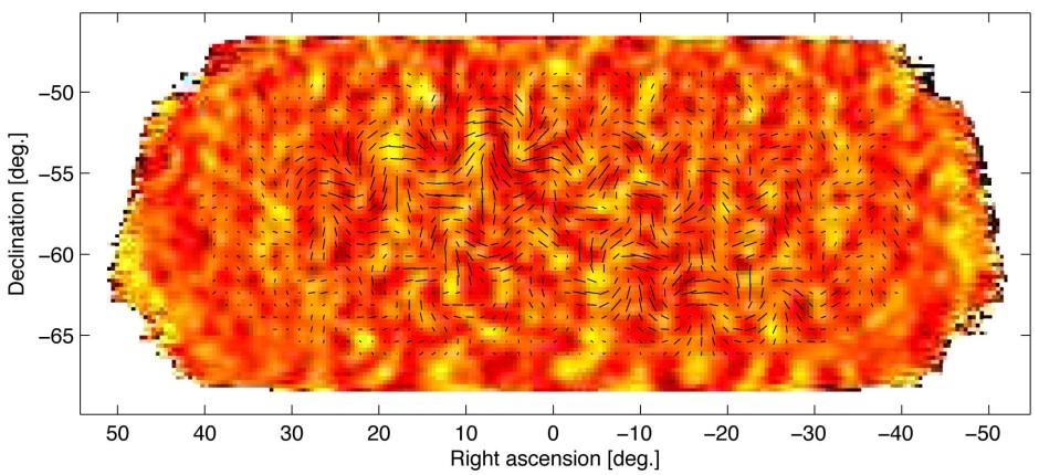 Der Beweis der kosmischen Inflation, der keiner war: Polarisationsmessungen der kosmischen Hintergrundstrahlung der Bicep2 Kollaboration.