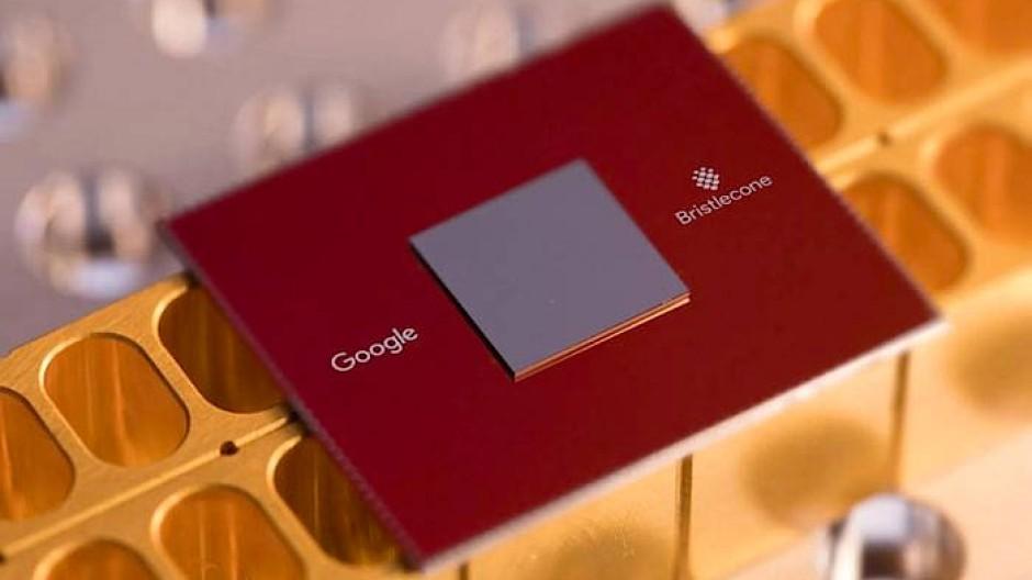 Googles Quantenprozessor Bristlecone