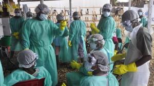 Spenden erreichen die Ebola-Kranken zu spät