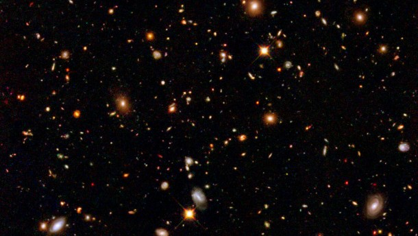 Hubble Deep Space: Natur und Wissenschaft, Astronomie