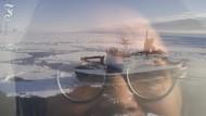 Zwei Mathematikerinnen am Südpol