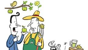 Alles im grünen Bereich: Mein idealer Apfelbaum