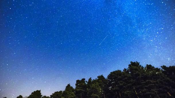 Sternschnuppen im Anflug