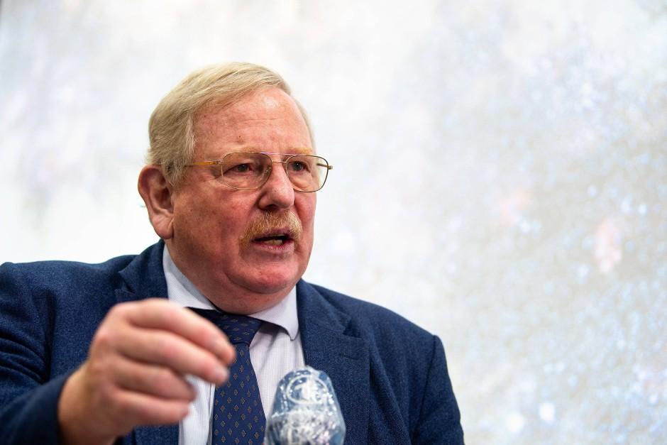 Reinhard Genzel, Direktor des Max-Planck-Instituts für extraterrestrische Physik in Garching bei München.