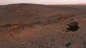 Ermüdete Marswägelchen