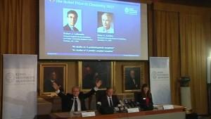 Zwei Amerikaner teilen sich den Chemie-Nobelpreis