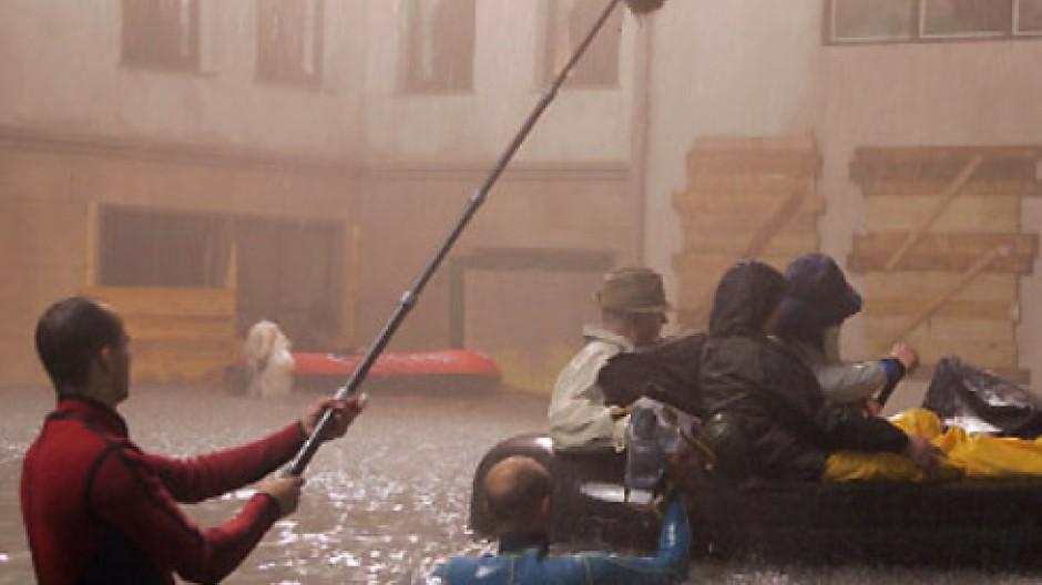 """Dreharbeiten zur ZDF-Dokumentation """"Die Rückkehr der Sintflut"""""""