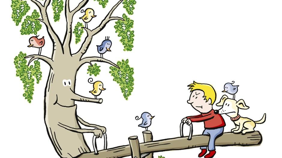 Klimawandel? Die Robinie wuppt das schon.