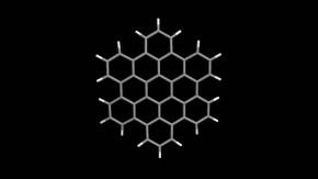 Hexabenzocoronen-Molekül: Natur und Wissenschaft, Physik und Chemie