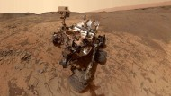 Der Marsroboter rollt wieder