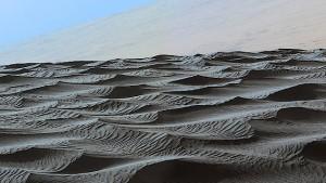 Marsrover stößt auf große Sandwüste