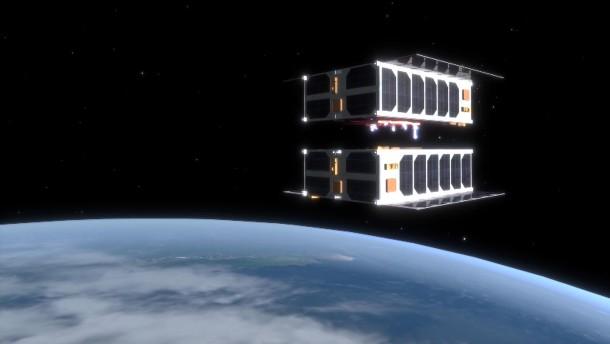 Das Rendezvous von CubeSat