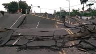 Keine Erdspalte, aber erhebliche Verschiebungen an der Erdoberfläche: Taiwan nach dem Chichi-Erdbeben im September 1999