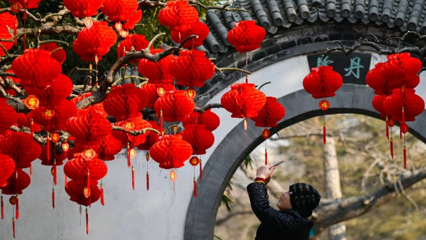 China feiert seinen Sonderweg