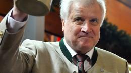 Horst Seehofer kriegt die Kurve