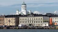 Ist das finnische Gesamtschulsystem vielleicht doch nicht der Weisheit letzter Schluss? So schön wie diese Hafen-Idylle in Helsinki ist der Bildungserfolg jedenfalls nicht mehr.
