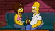 Homer Simpson hat eine neue Freundin: Marge trennte sich von ihm, weil er seine Faulheit mit Narkolepsie begründete.