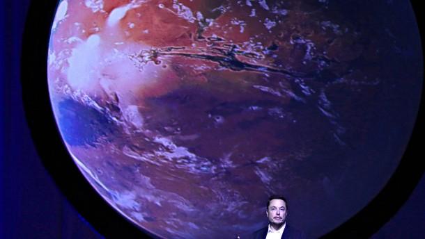 Tesla-Gründer Musk will den Mars besiedeln