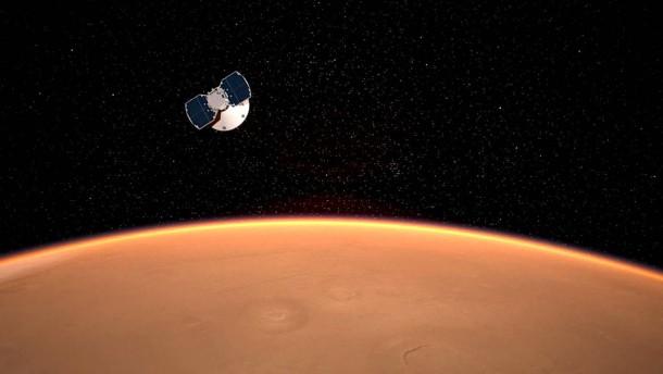 """""""InSight"""" hat auf dem Mars aufgesetzt"""