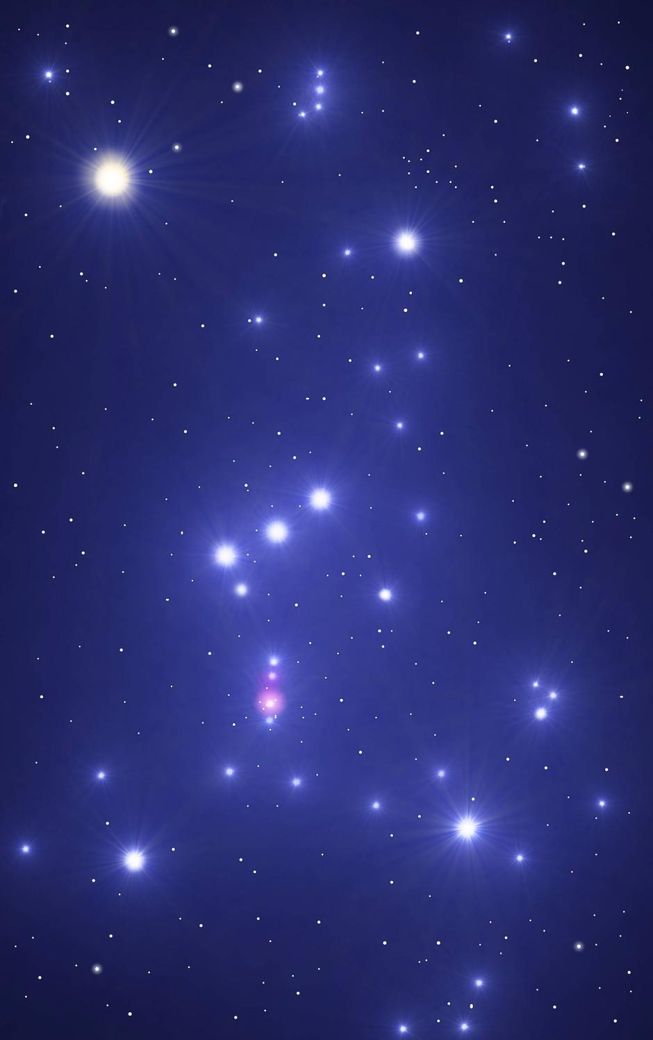 Das Sternbild Orion - Schauplatz der nächsten Supernova?