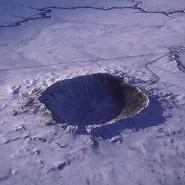 Sieht aus wie auf dem Mond, ist aber die Erde: Ein knapp 50.000 Jahre alter Krater in Arizona. Astronomen fragen sich: Würde die Erde ohne ihre Vegetation und Meere dem Mond ähneln?