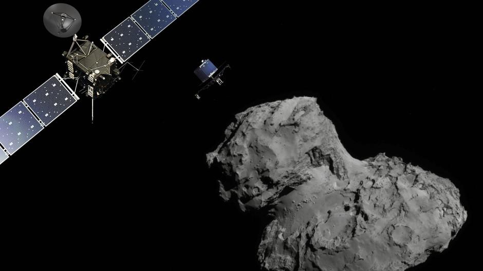 Auf der Suche nach Xenon: die Raumsonde Rosetta