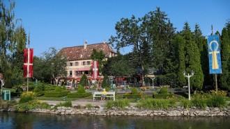 Historisch und märchenhaft: der Schlosspark Balthasar.