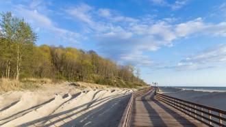 Kaliningrad ist auch bei Badetouristen ein beliebtes Ziel.