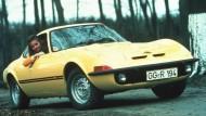 Laut Werbeslogan war damals nur fliegen schöner – der Opel GT/J, 1971.