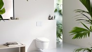 Avanciert zum Wellnessprodukt: Dusch-WCs mit integrierten Duschfunktionen und weiteren Zusatzfunktionen.