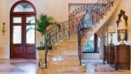 Bei einer Treppenlift-Montage kann die wertvolle Treppe erhalten bleiben.