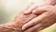 Die Palliativpflege stellt die Lebensqualität des Patienten in den Vordergrund.