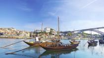 Altes Boot in Porto
