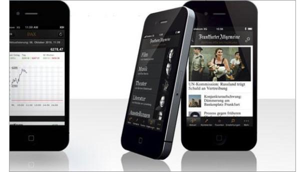 F.A.Z. iPhone App
