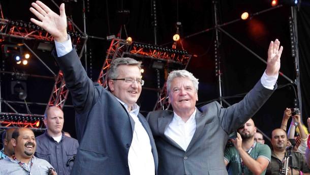 "Bundespräsident Gauck auf Festival ""Haltestelle Woodstock"""
