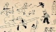 34 Zeichnungen von Hergé für 2,65 Millionen Euro mit Aufgeld