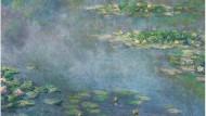 """Claude Monets Nymphéas"""" von 1906, geschätzt auf 20 bis 30 Millionen Pfund, brachten 28,25 Millionen Pfund."""