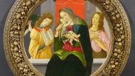 Maria und Jesus, ein Engel und Johannes der Täufer von Sandro Botticelli und Werkstatt, geschätzt auf 250.000 bis 300.000 Euro