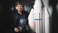 Ulrich Walter ist heute Lehrstuhlinhaber für Raumfahrttechnik an der Technischen Universität München.