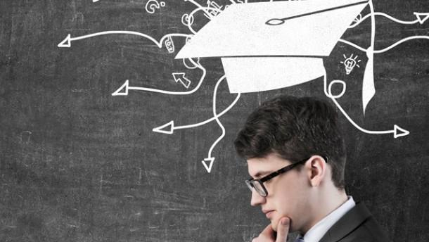 Fünf Fakten...: ...zum Übergang zwischen Bachelor und Master - Gehalt - FAZ