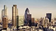 Begehrt, aber teuer: London bietet Berufseinsteigern, relativ gesehen, nur ein mittleres Einkommen.