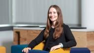 Expertin für Big Data: Die 26-jährige Angelika Salomon hat sich schon in ihrer Schulzeit für Informatik interessiert.