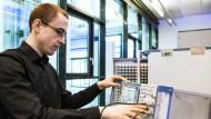 René Wolf, 28, Softwareentwickler im Bereich Mobilfunk Messtechnik, Rohde & Schwarz