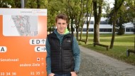 Berufswunsch Cyberverteidigung: Janosch Klein würde nach dem Studium gern im neugegründeten Kommando CIR arbeiten. Derzeit absolviert er ein IT-Studium an der Bundeswehruniversität in München.