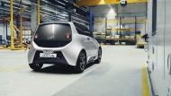 Elektroauto vom Campus: Der an der RWTH Aachen entwickelte Kleinwagen soll schon ab 2018 auf deutschen Straßen unterwegs sein.